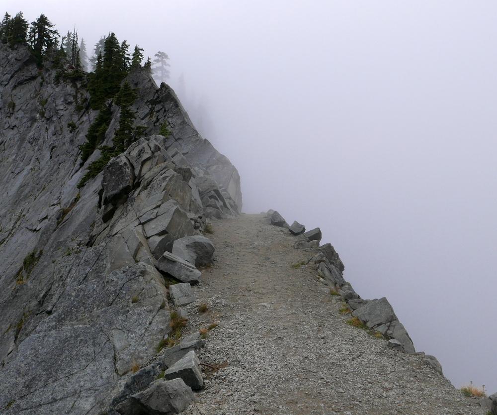 Kendall Katwalk in mist