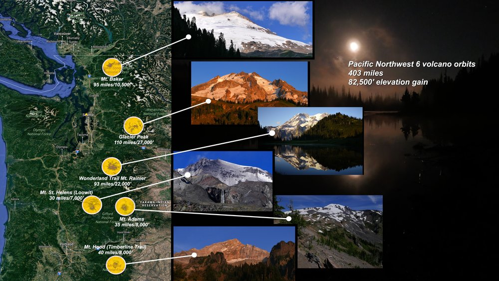 Sample some of the best the PNW has to offer by orbiting these 6 volcanoes