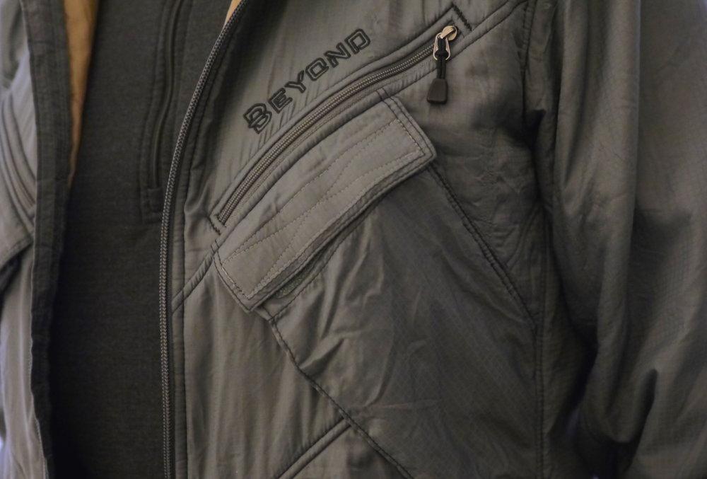 Beyond alpha jacket details