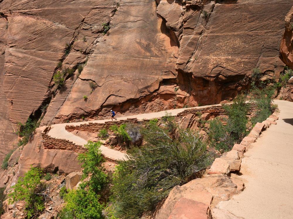 """Descending """"Walter's Wiggles"""" (Zion)"""