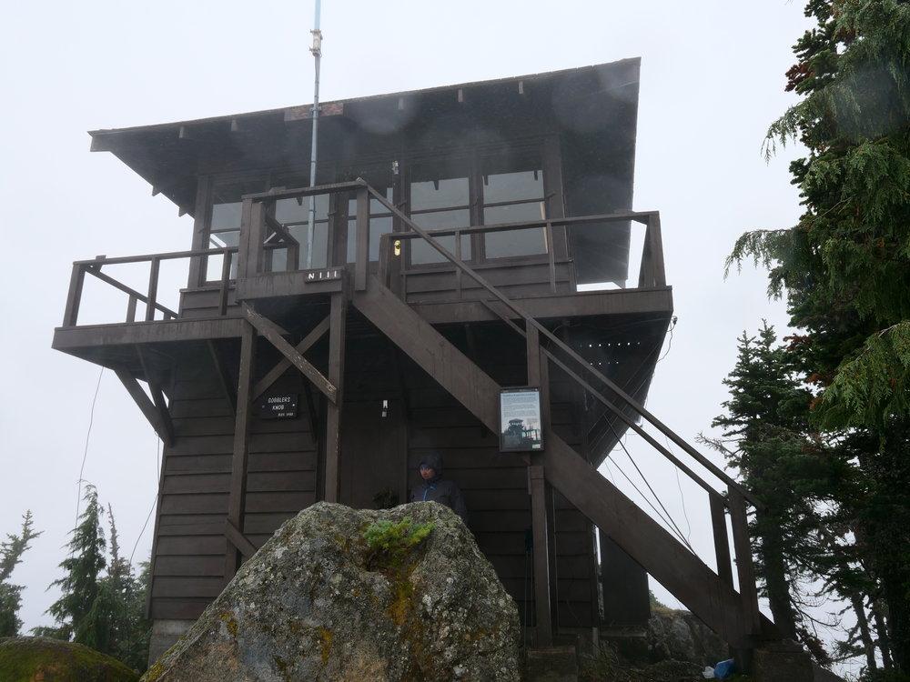 No views today at Gobblers Knob (5485')