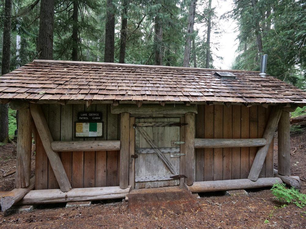 Lake George patrol cabin