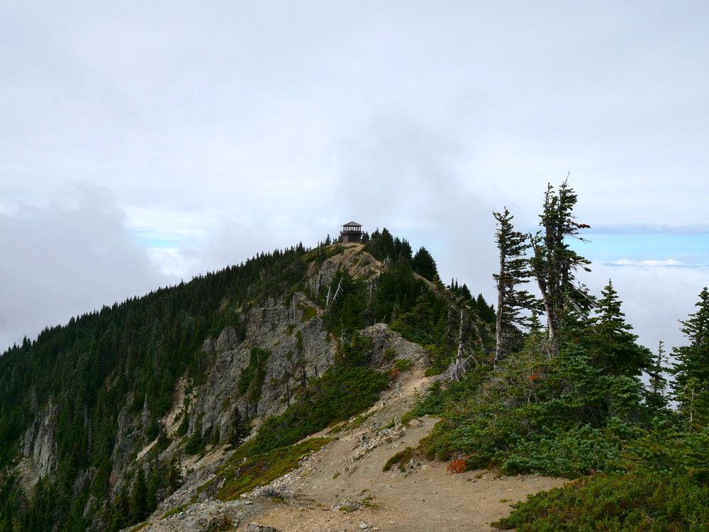 Tolmie lookout enroute to Tolmie Peak (5920')
