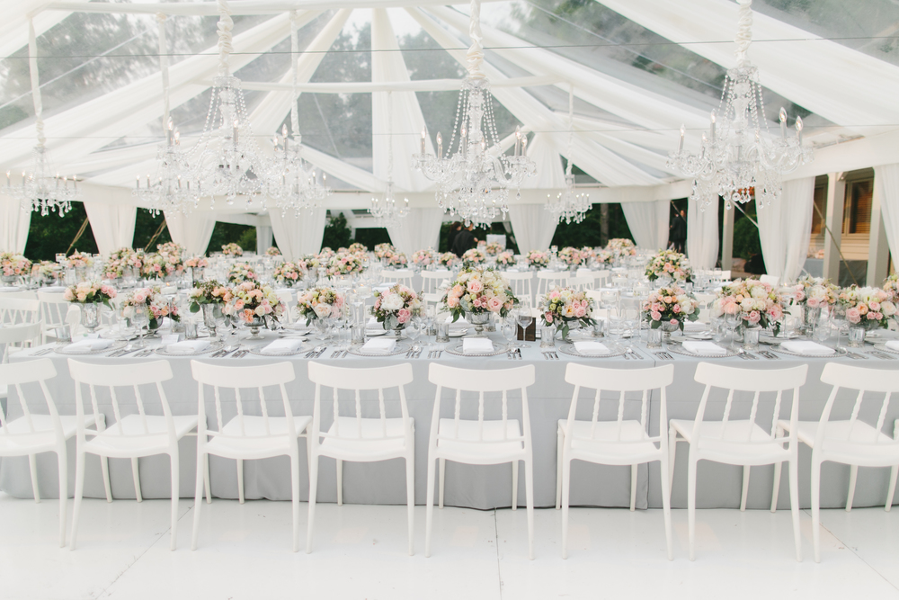 Elegant Tent Wedding | Wedding Planning & Design by Cynthia Martyn Fine Events |  | Fine Art Wedding Planning & Design