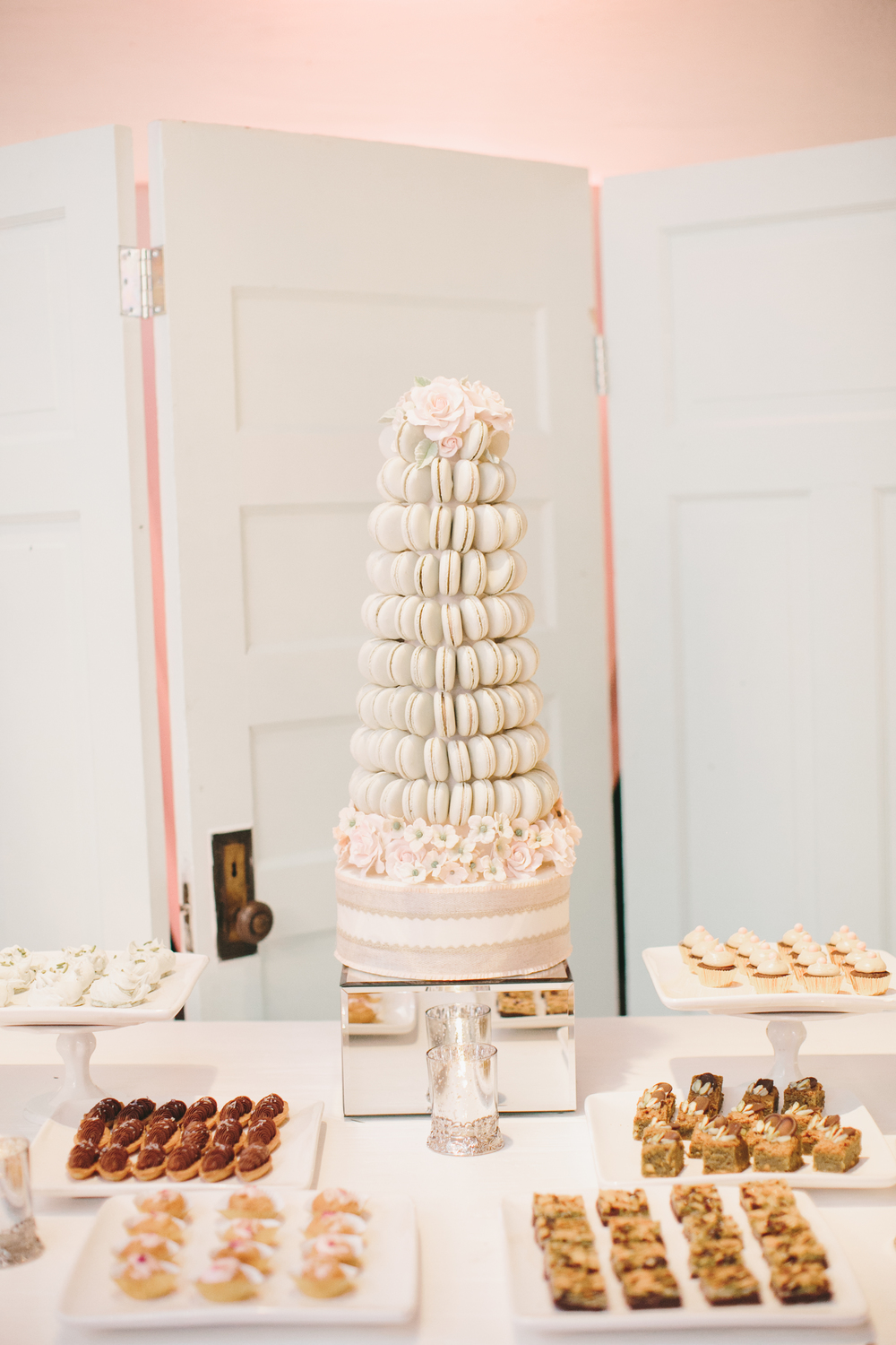 Macaron Tower | Cake Opera Co. | Wedding Planning & Design by Cynthia Martyn Fine Events |  | Fine Art Wedding Planning & Design