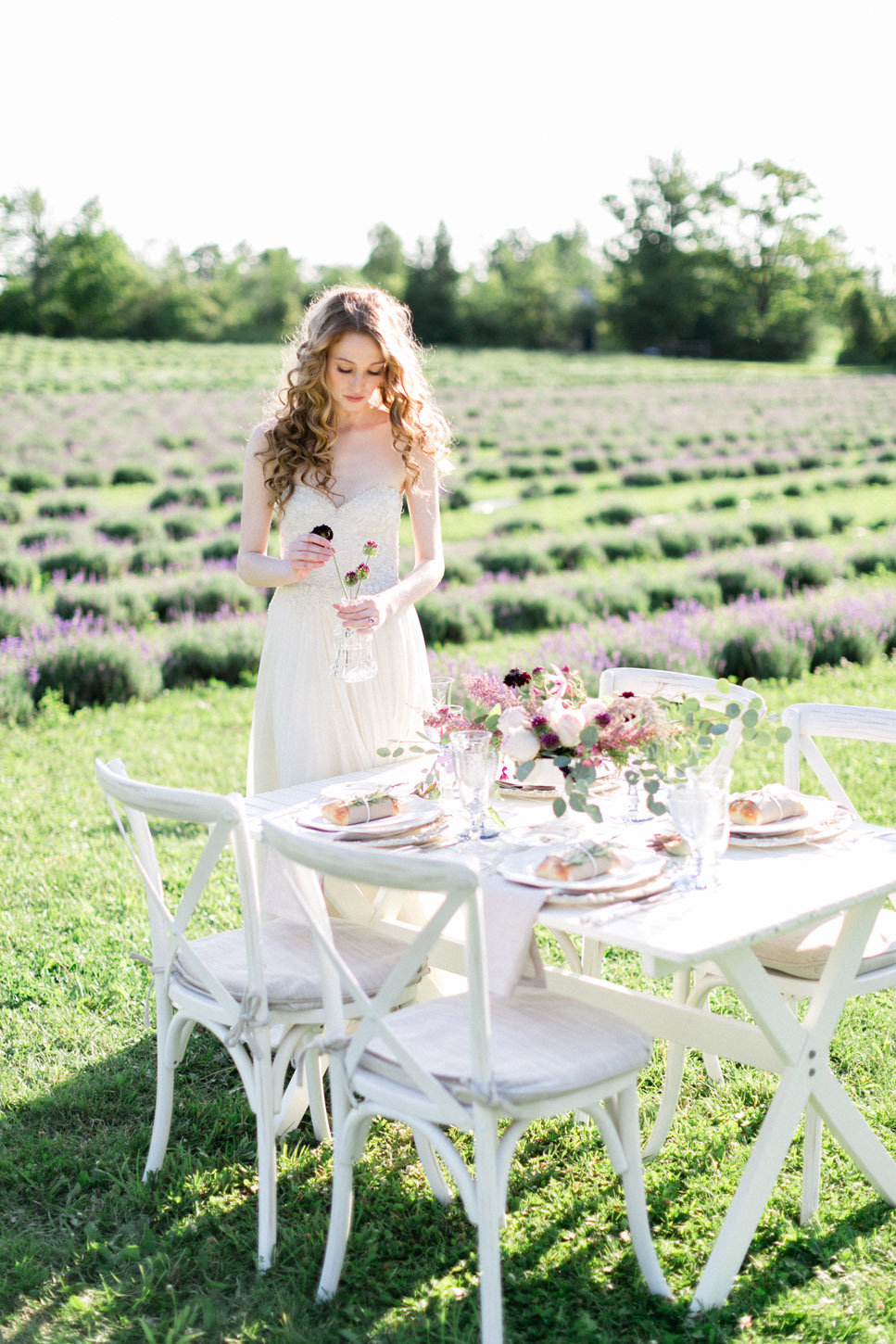 Lavender Farm Wedding Editorial | Wedding Planning & Design by Cynthia Martyn Fine Events | Fine Art Wedding Planner & Designer