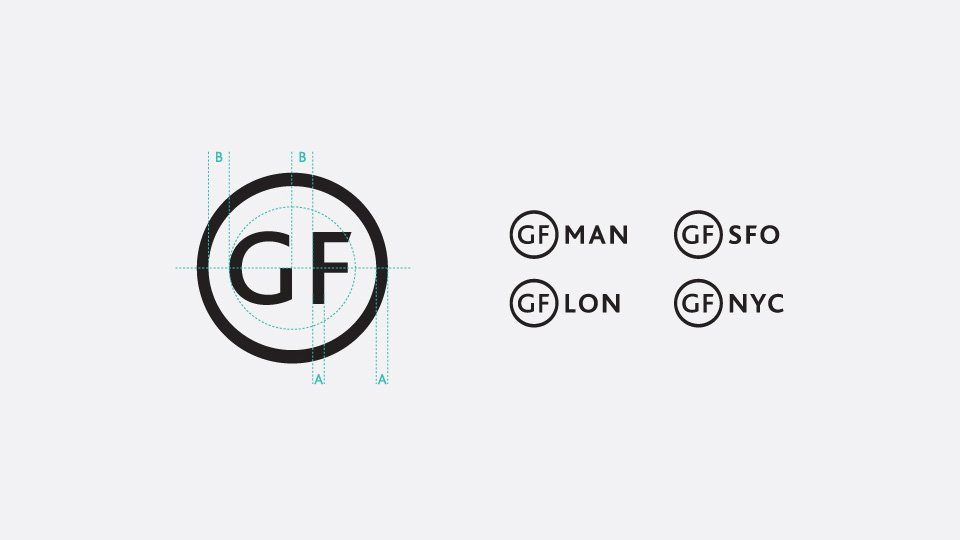 great fridays branding - Brand Identity for the design agency Great Fridays.