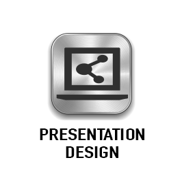 Click button for more info and to see our presentation media design folios..
