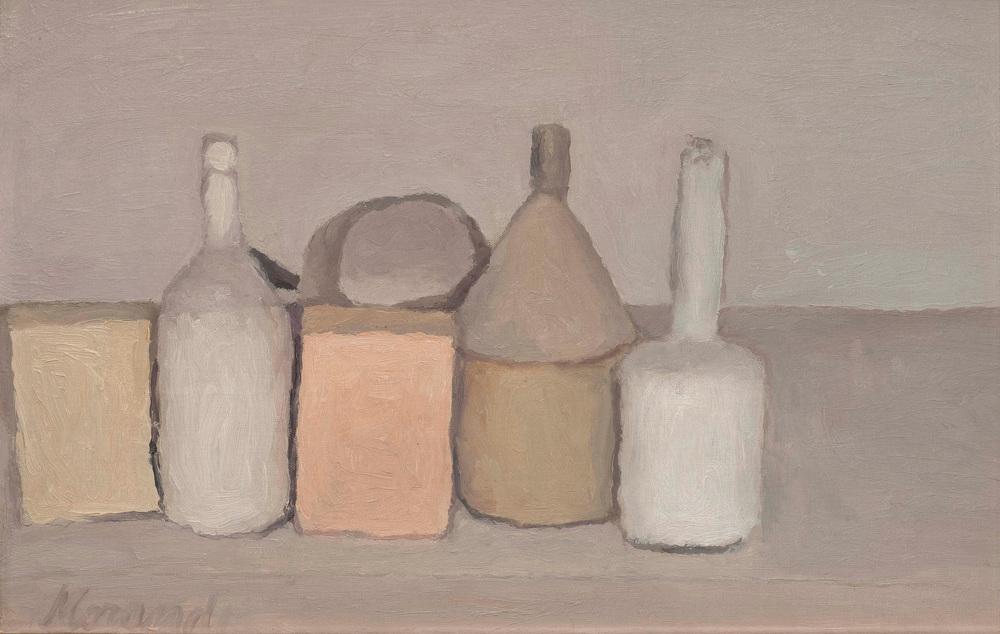 Still Life 1955 by Giorgio Morandi