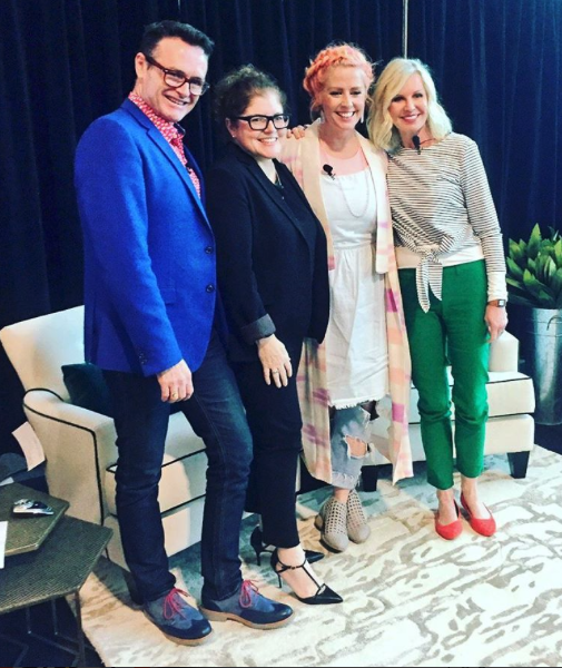 My panel appearance at VisitSOFA with Tiffany Pratt and Jackie Glass and moderator Glen Peloso.