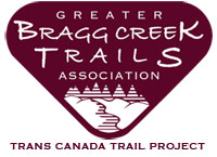 Trans Canada Trail Bragg Creek