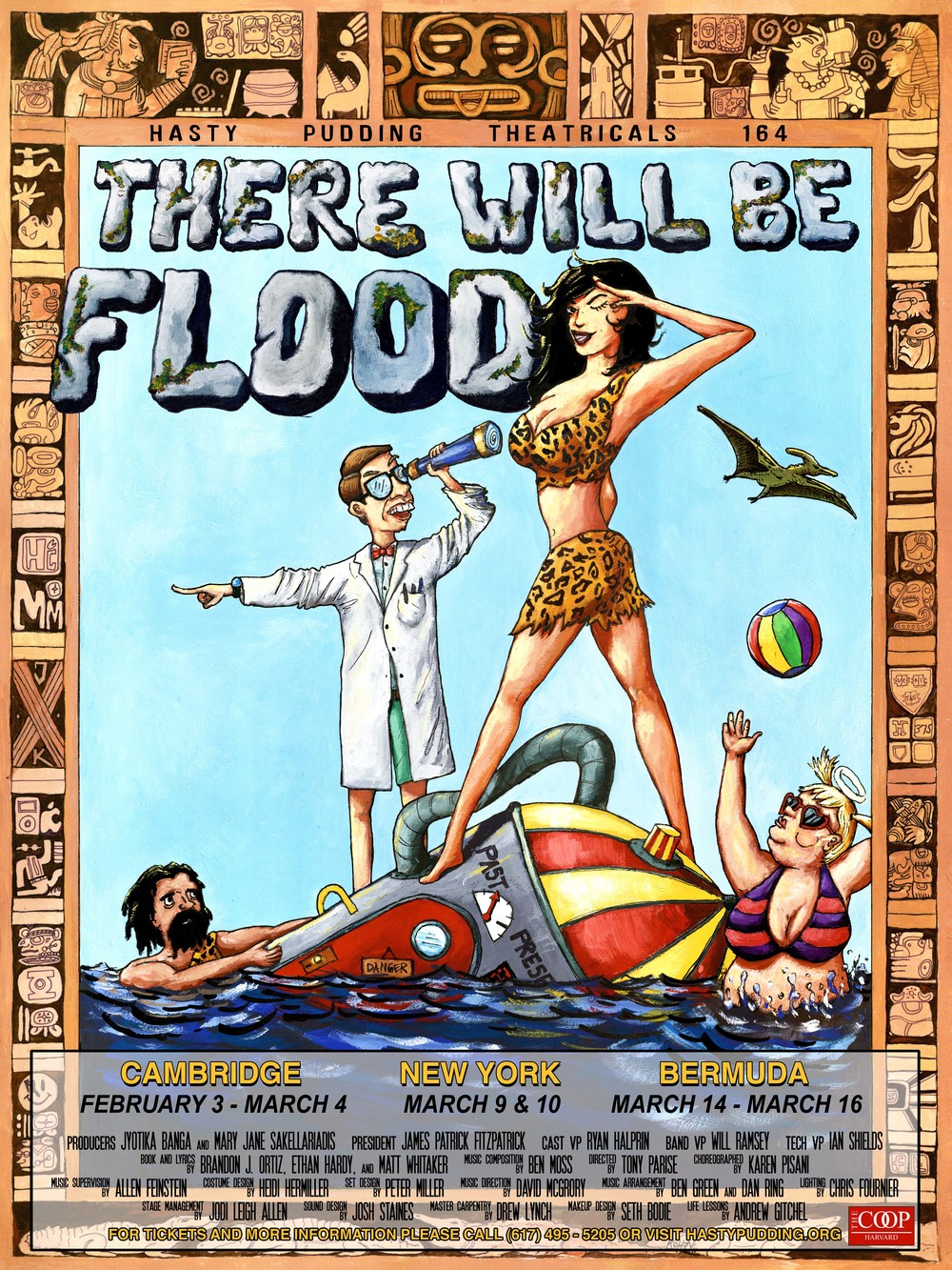 Hasty Puddings 2012: There Will Be Flood
