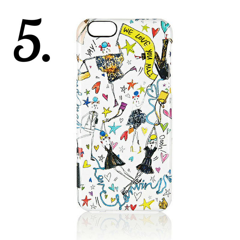 Lanvin: Printed iPhone 6 Case
