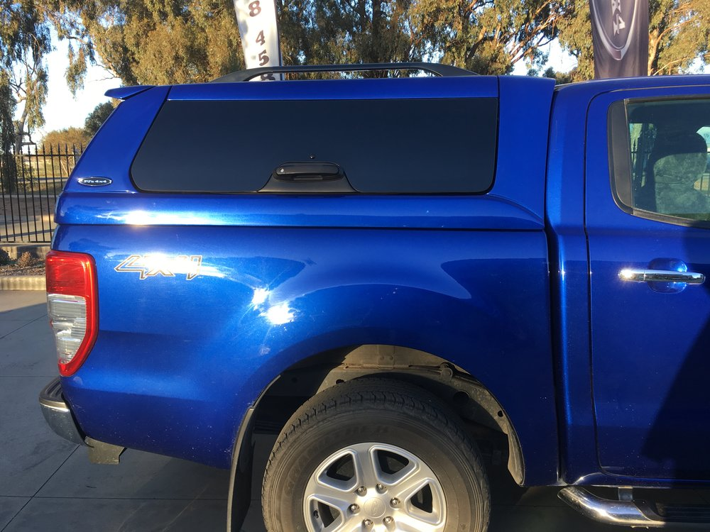 Aurora Blue Ford PX Ranger