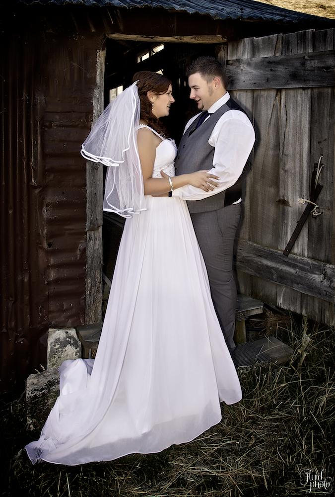 Woolshed wedding New Zealand