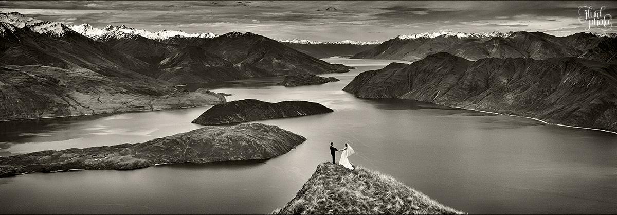 coromandel peak wanaka wedding