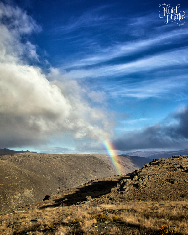 rainbow central otago flat top hill