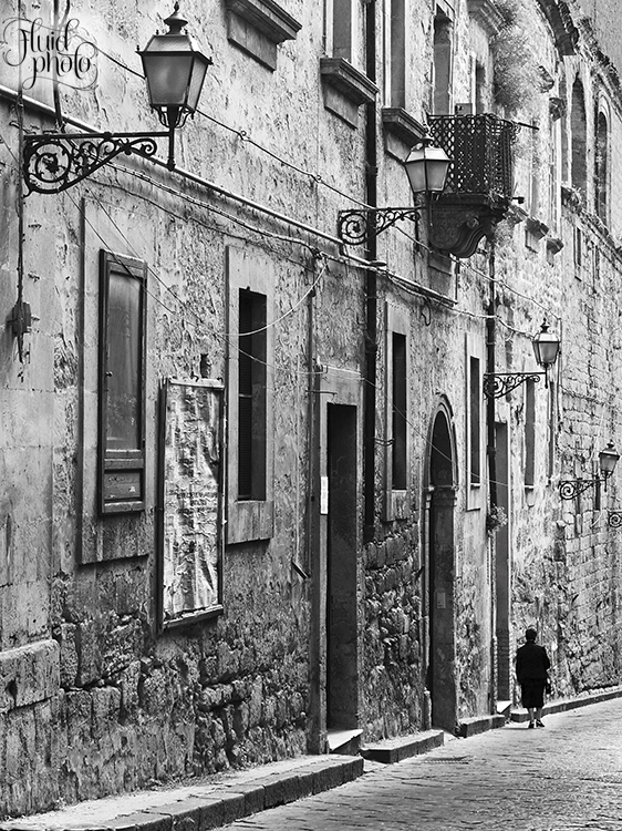 enna old town sicily
