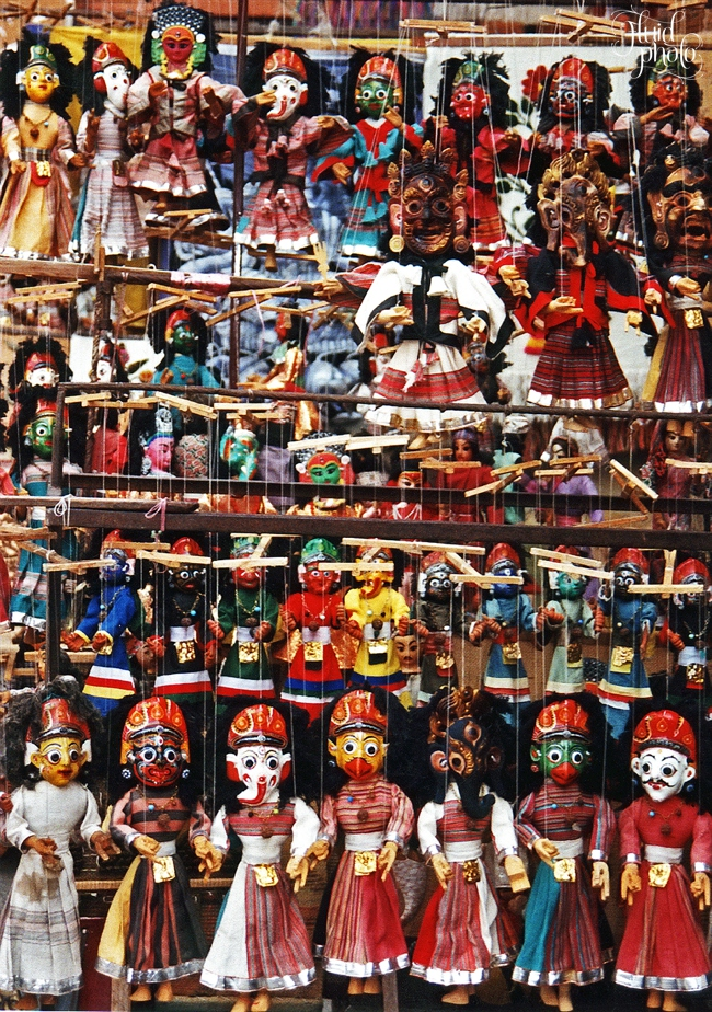 puppets from Nepal