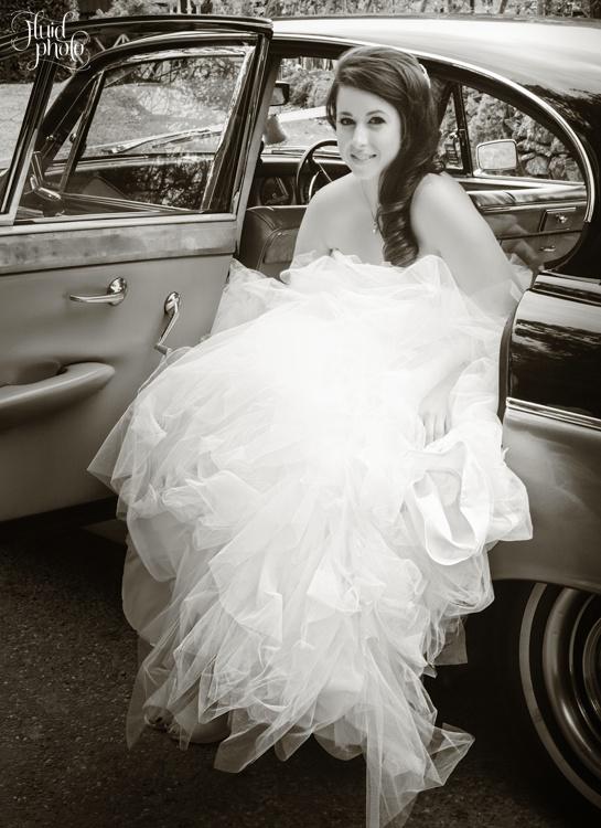 arrival of bride queenstown