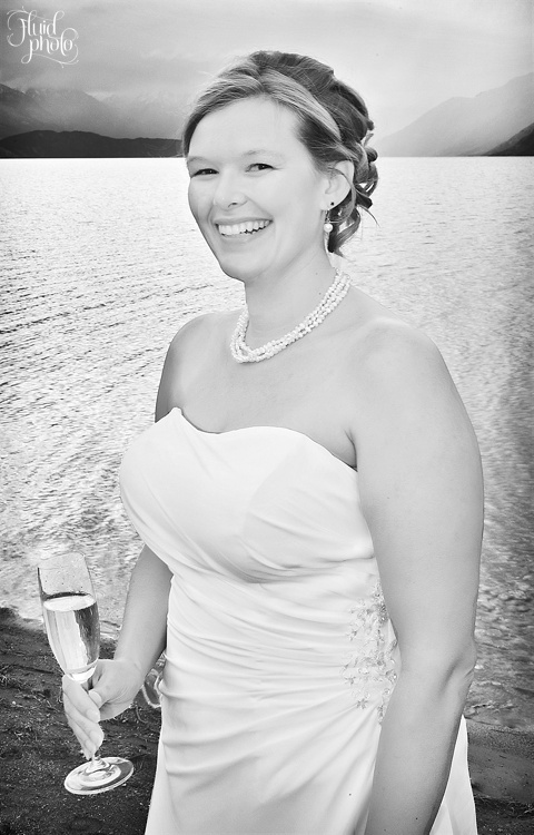 Bride portrait photo