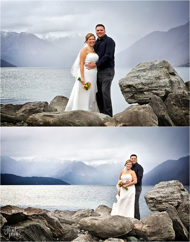 Waterfall Creek Wanaka Wedding photo
