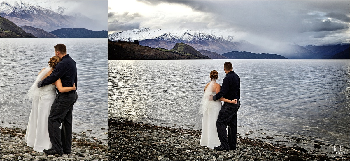 Winter Wedding Wanaka photo