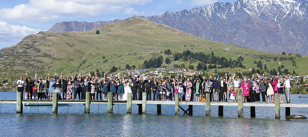 queenstown wedding group photo 21