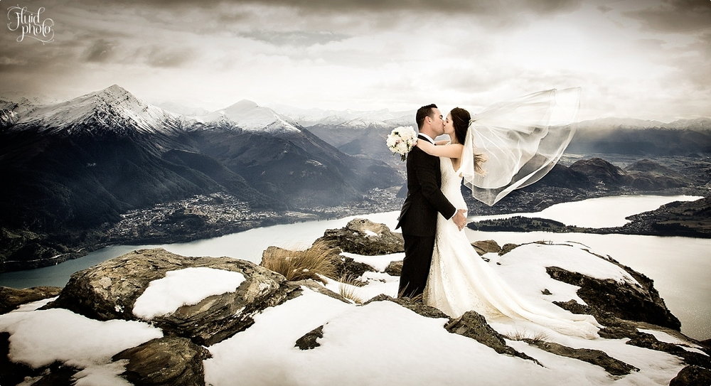 Queenstown Snow Wedding Photography