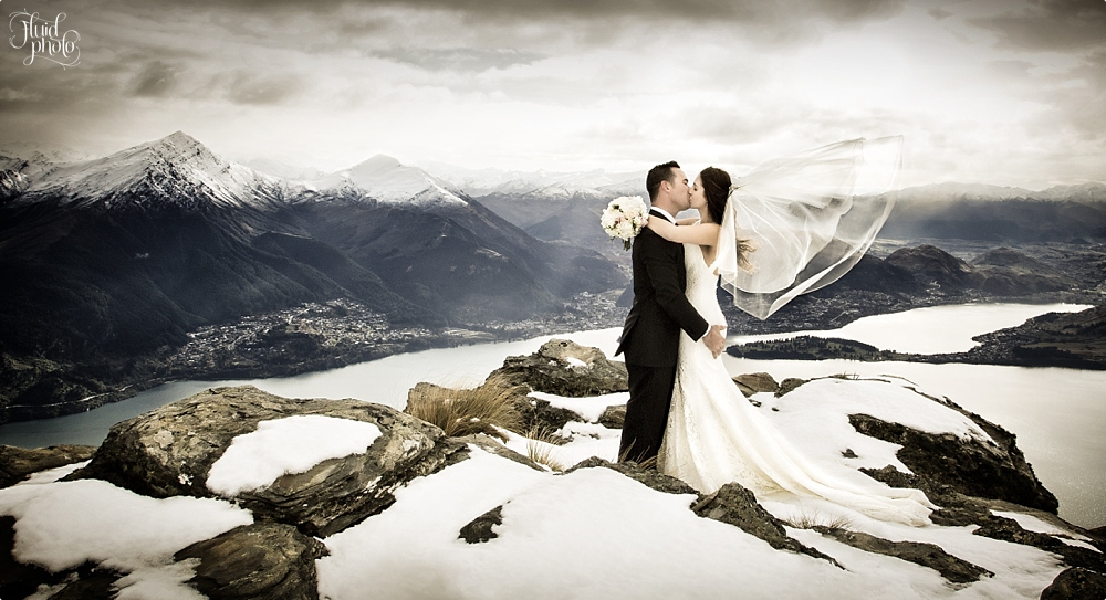 queenstown heli wedding photo 02