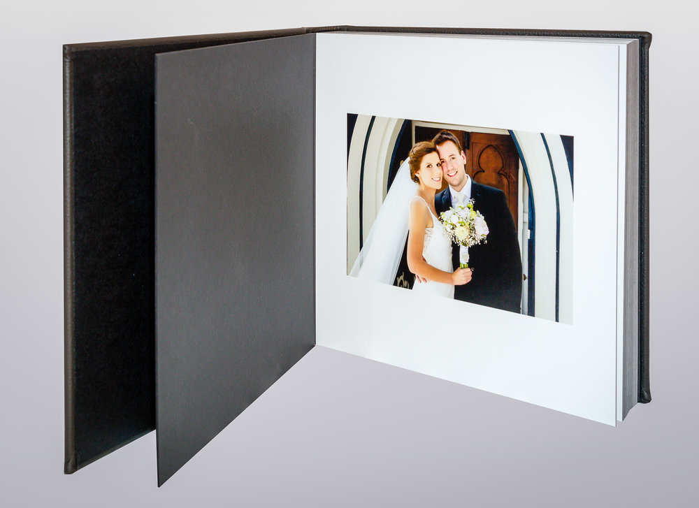 Flush Mount wedding album