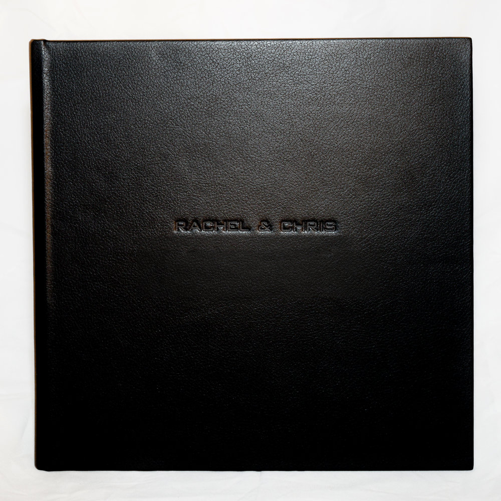 Embossed album cover