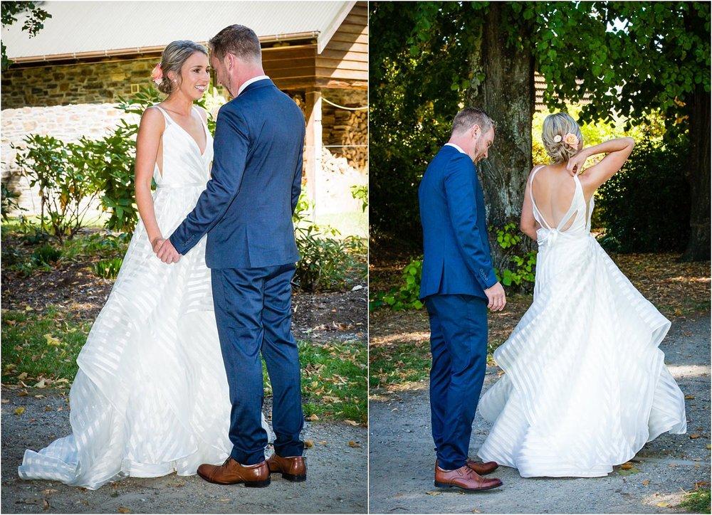 wanaka wedding first look