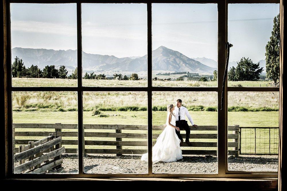 Criffel Station Wanaka Wedding