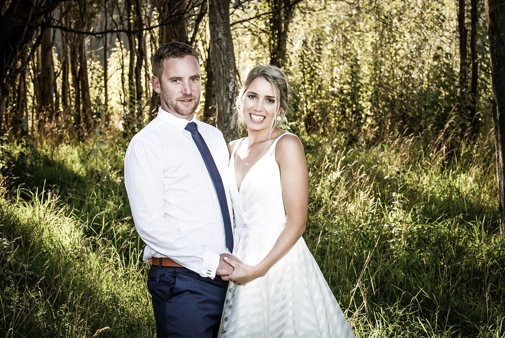 Newly-weds Wanaka Wedding