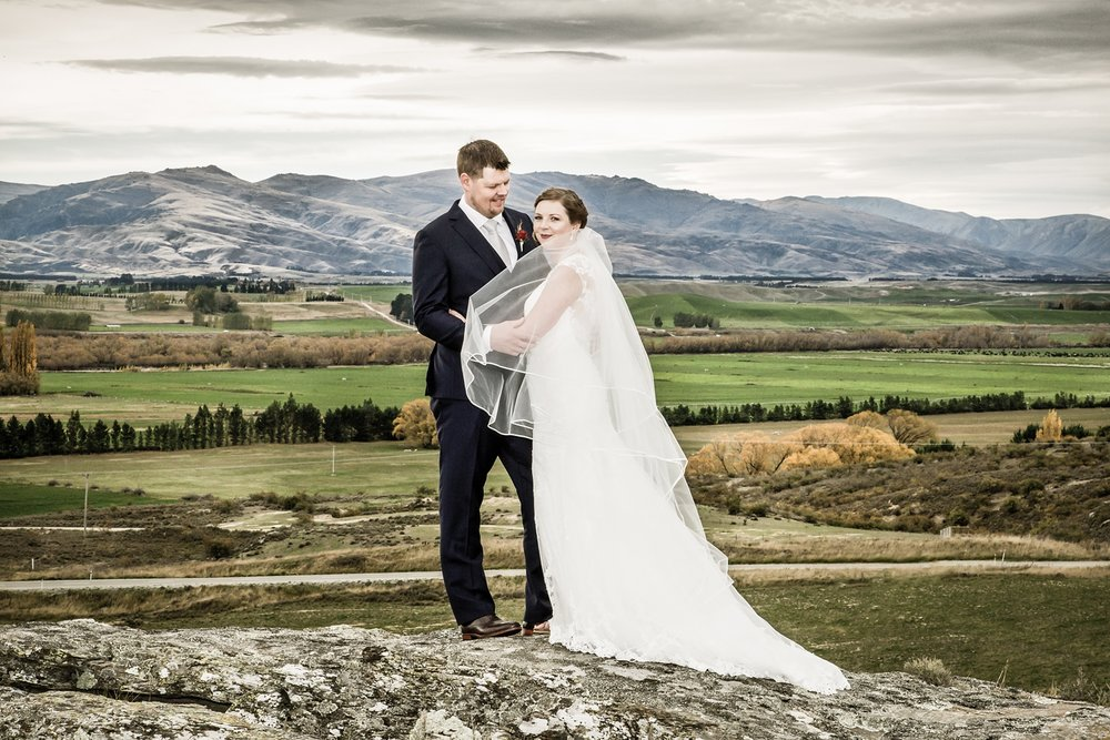 Central Otago wedding vista