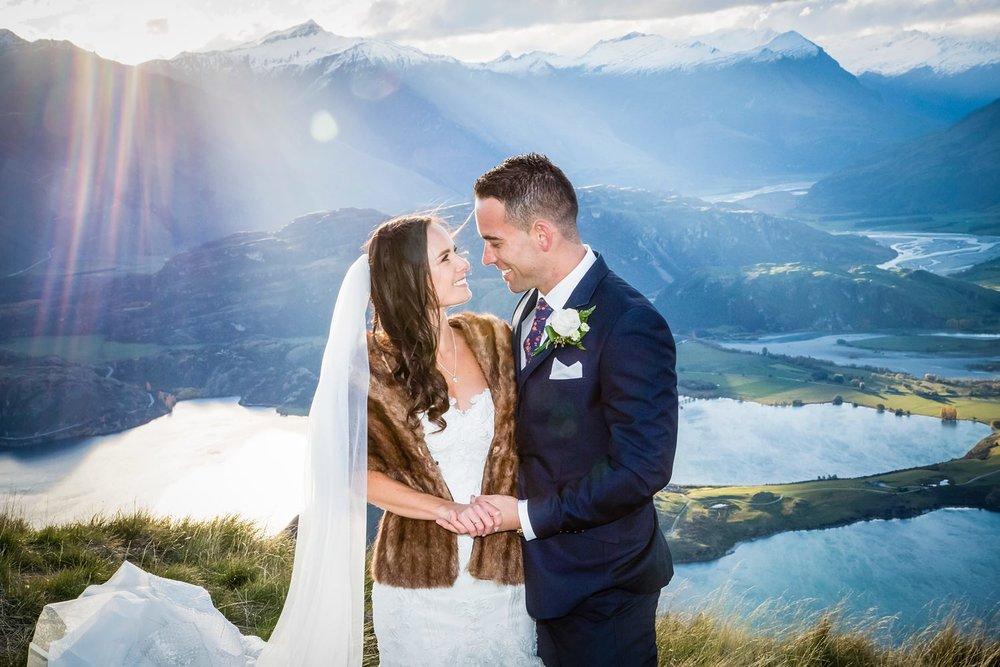 Wanaka Mountain Wedding | Glendhu Station