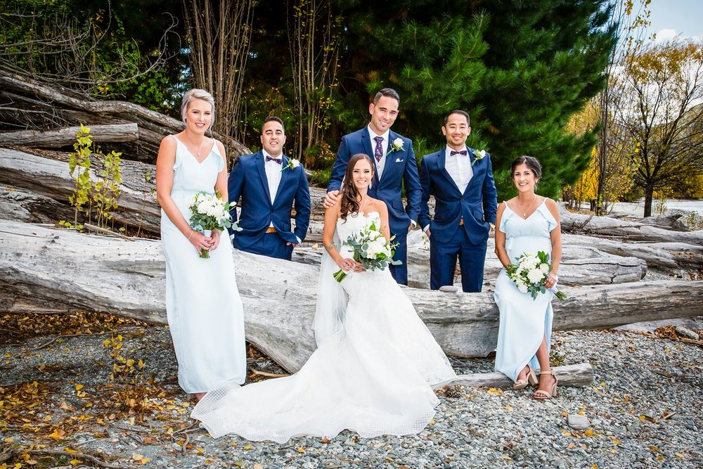 The Bridal Party | Wanaka Wedding | Photography by Fluidphoto