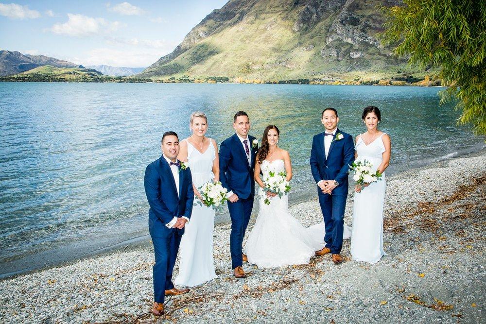 Wanaka Bridal Party | Wanaka Wedding | Photography by Fluidphoto
