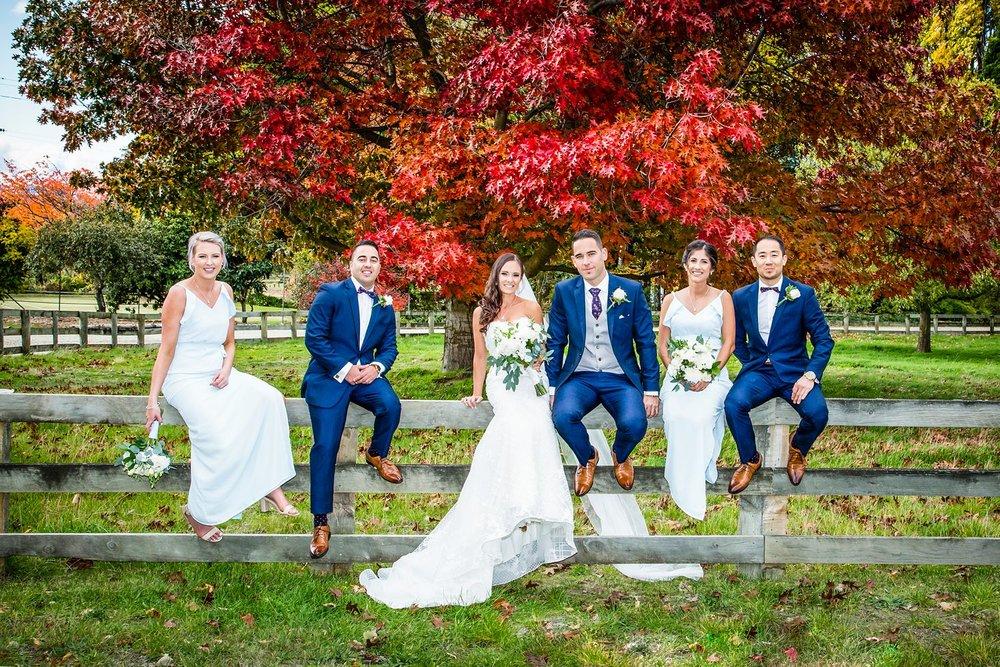 Autumn wedding colours
