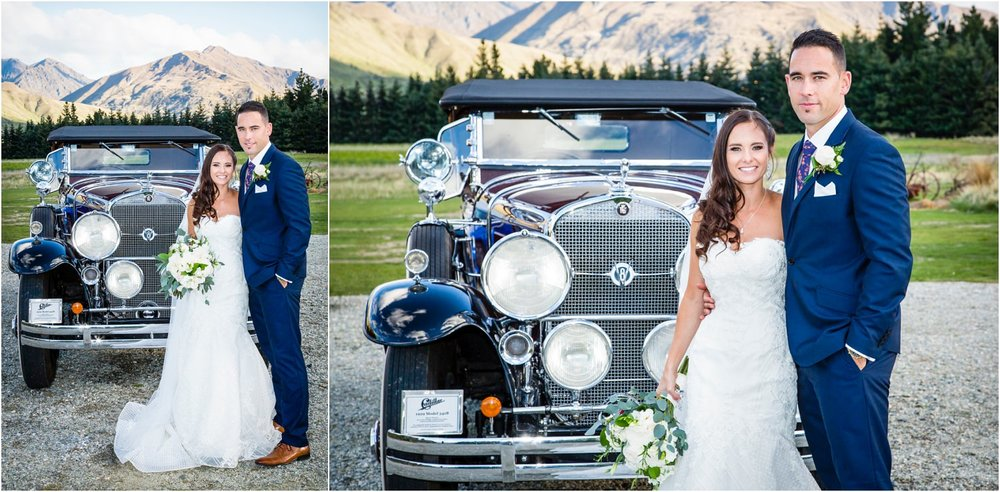 Wanaka Wedding cars | capturing those special moments with Wanaka Photographer Ruth from Fluidphoto