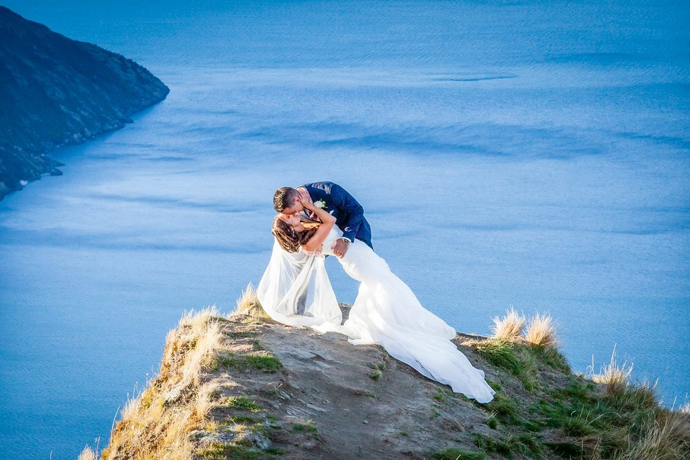 Romantic Wedding photography in Wanaka
