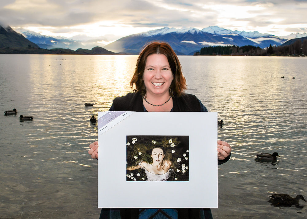 One of my creative images I won a Silver Award for with the NZIPP IRIS print awards