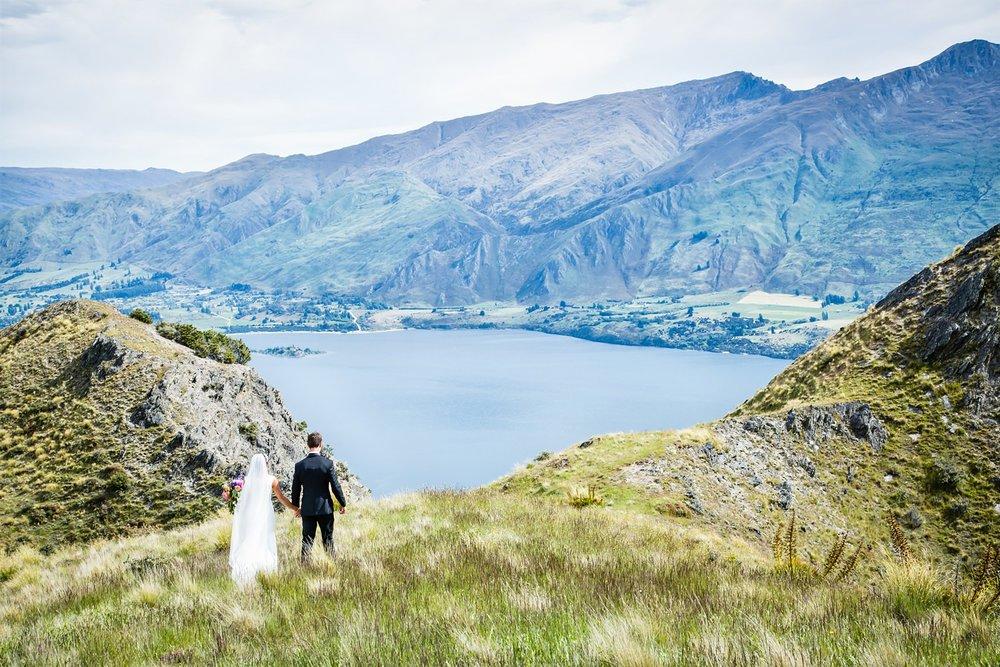 Mountain wedding Wanaka