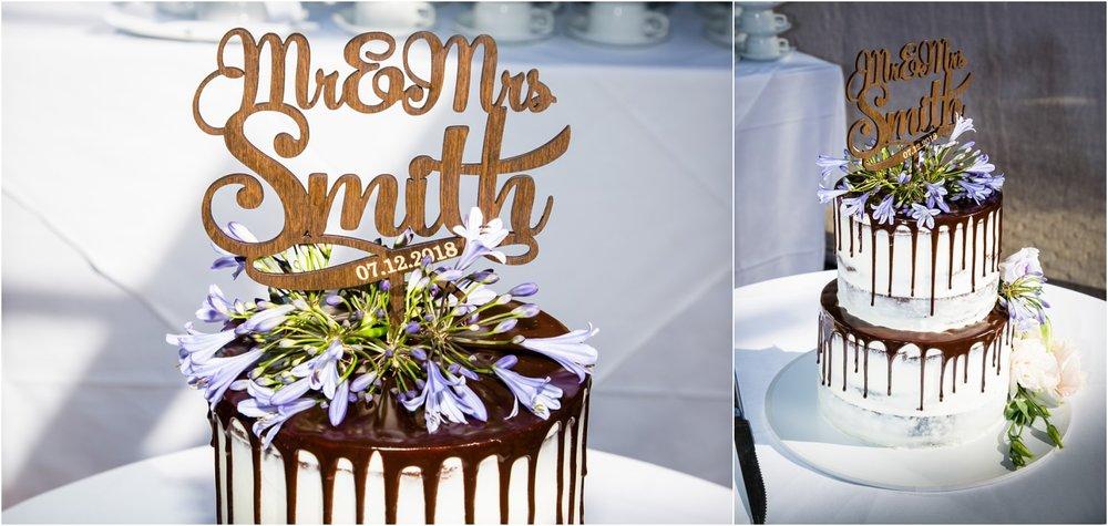 Wedding cake by Cakes of Wanaka