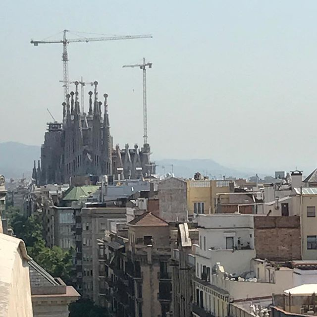 Traveling in Barcelona, Spain