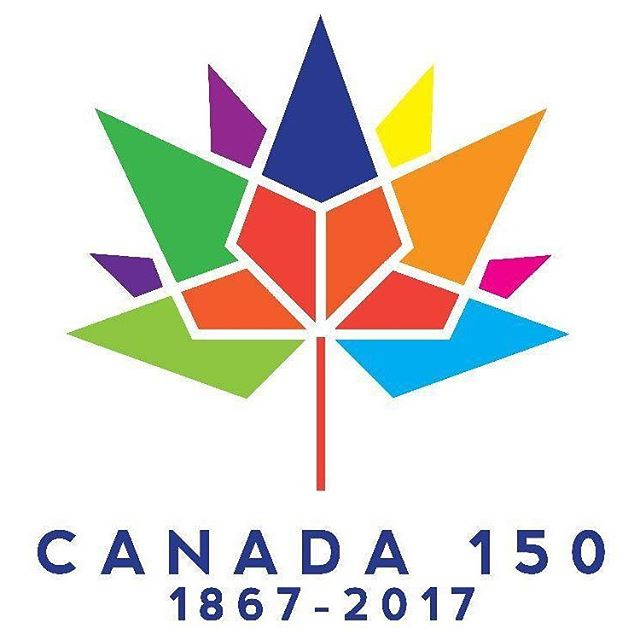 Happy birthday Canada 🇨🇦 150 #canada150