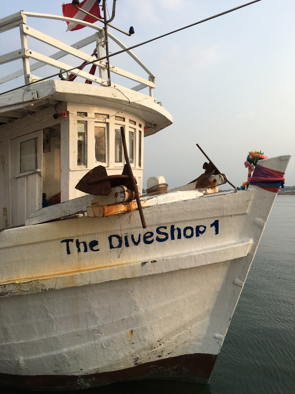 The Dive Shop boat