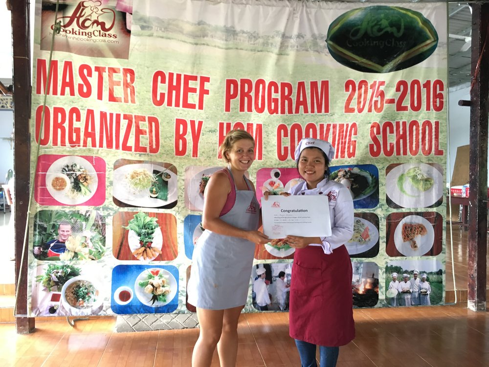 Cooking class in Ho Chi Minh City, Vietnam