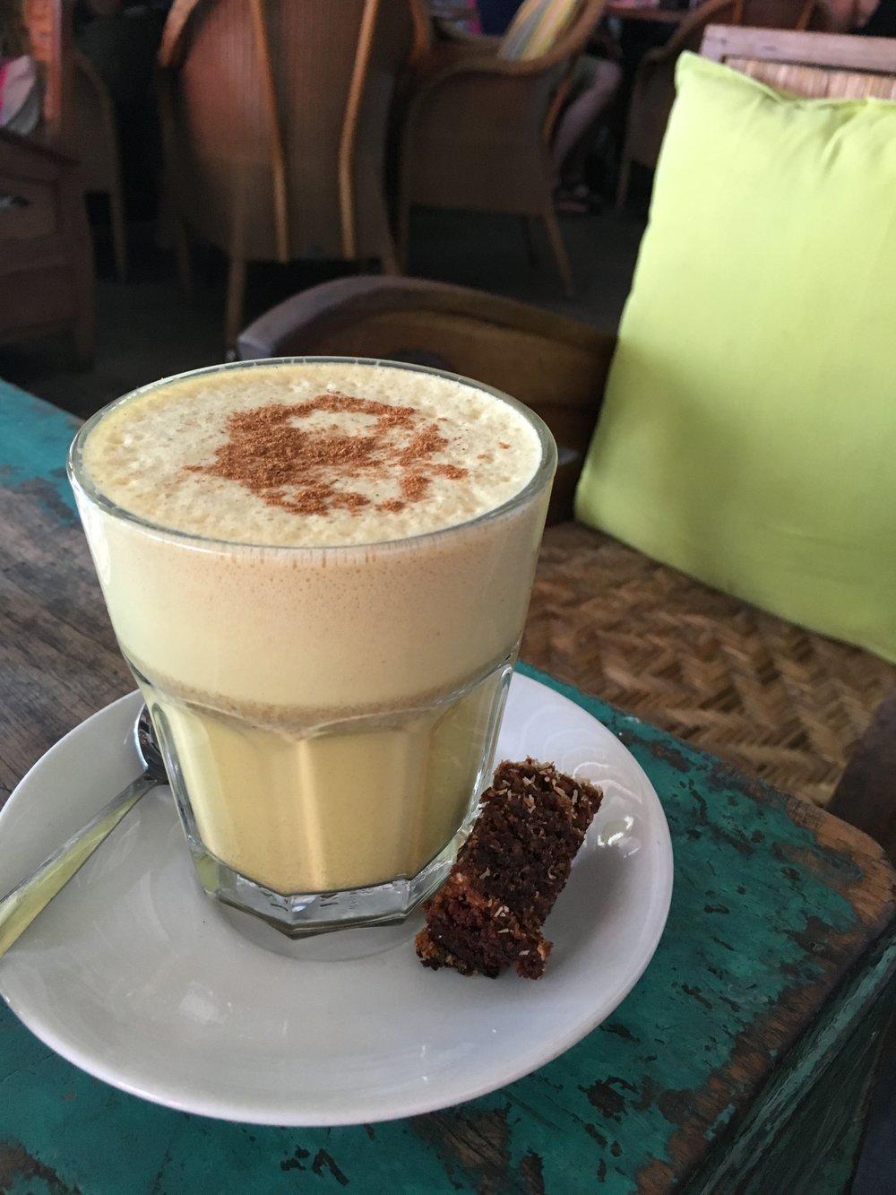 Tumeric lattes